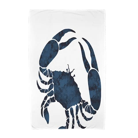 36 x 72-inch Crab Animal Print Beach Towel