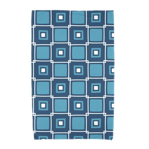 30 x 60-inch Square Pop Geometric Print Beach Towel