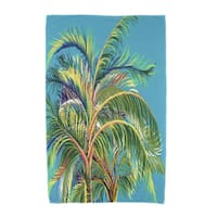 30 x 60-inch Vacation Floral Print Beach Towel