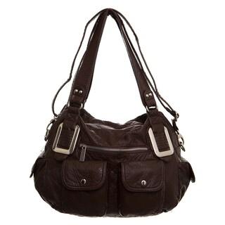 Ampere Creations Mandy Vegan Leather Satchel/Shoulder Handbag