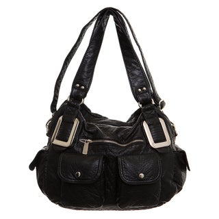 Link to Ampere Creations Mandy Vegan Leather Satchel/Shoulder Handbag Similar Items in Shop By Style