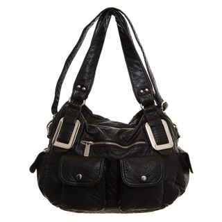 Ampere Creations Mandy Vegan Leather Satchel/Shoulder Handbag