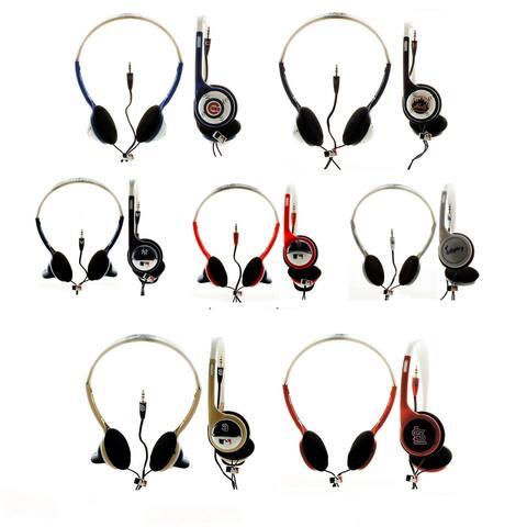 Nemo Digital MLB Baseball Overhead Headphones (Pack of 2)