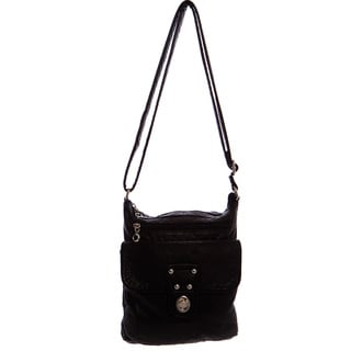 Ampere Creations Stacy Vegan Leather Extra-large Crossbody Handbag