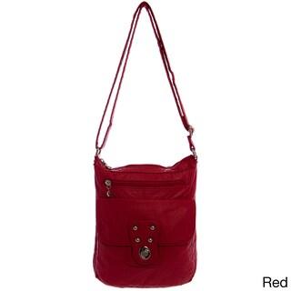 Ampere Creations Stacy Vegan Leather Extra-large Crossbody Handbag