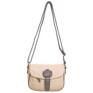 Ampere Creations Mix Kate Faux Leather Vegan Crossbody Handbag