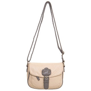 Ampere Creations Mix Kate Faux Leather Vegan Crossbody Handbag
