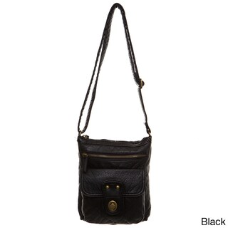 Ampere Creations Stacy Faux Leather Vegan Crossbody Handbag (5 options available)
