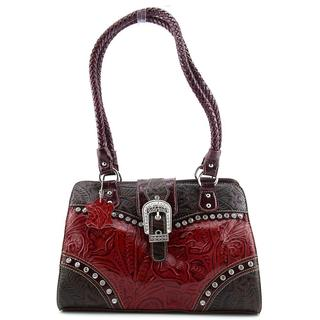 Madi Claire Women's Betsy Satchel Leather Handbag