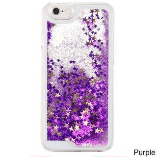 Liquid Glitter Quicksand Multicolor Phone Cases for iPhone 5/5S (Option: Purple)