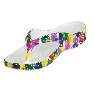 Dawgs Women's Vegas Collection Multi-color EVA Flip Flop Sandals
