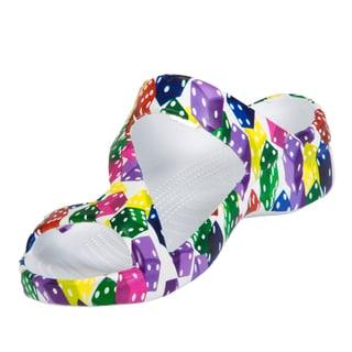 Dawgs Women's Vegas Collection Multi-color EVA Z Sandal