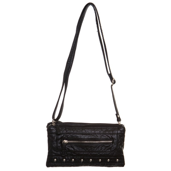 Ampere Creations Malie Faux Leather Three-way Wristlet/Clutch/Crossbody Handbag. Opens flyout.