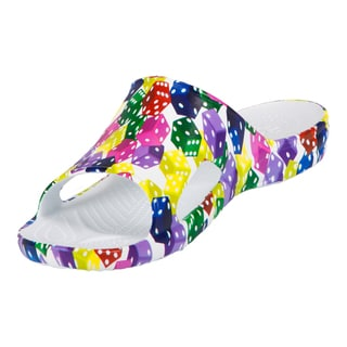 Dawgs Men's Vegas Collection Multicolor EVA Slide