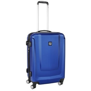 Load Rider 29-inch ABS Plastic Hard Case Upright Cobalt Spinner Rolling Luggage Suitcase with Aluminum Telescopic Pull Handle