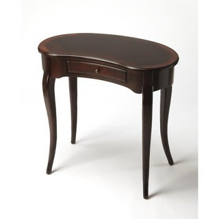 Butler Edgewater Brown MDF/Veneer/Wood Nouveau Writing Desk