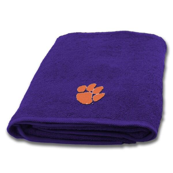COL 929 Clemson Bath Towel