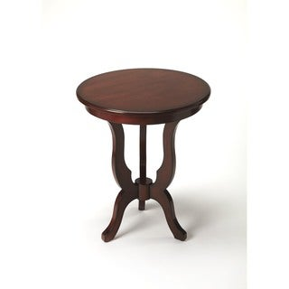 Butler Cleasby Plantation Cherry Finish Wood End Table