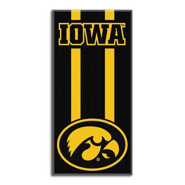 COL 620 Iowa Zone Read Beach Towel