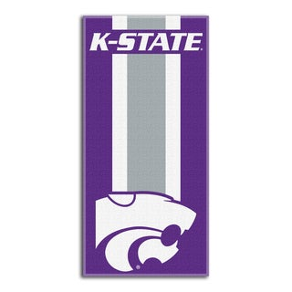 COL 620 Kansas State Zone Beach Towel