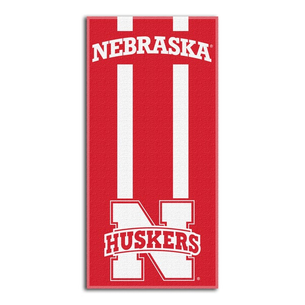 COL 620 Nebraska Zone Read Beach Towel
