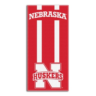 COL 620 Nebraska Zone Read Beach Towel