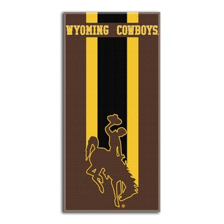 COL 620 Wyoming Zone Read Beach Towel