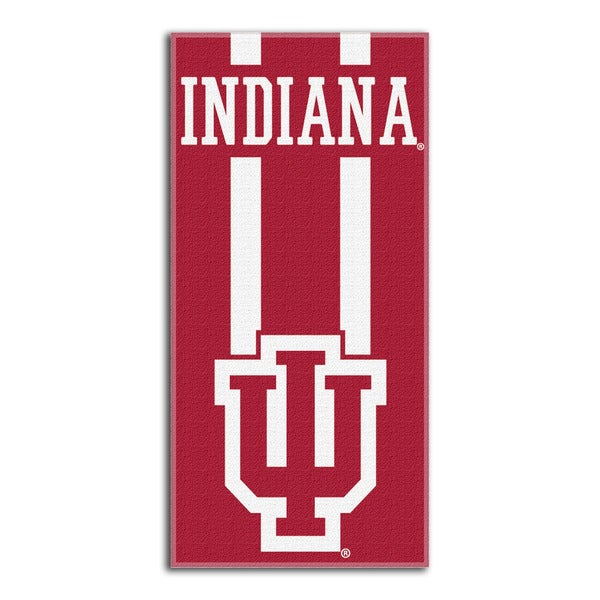 COL 720 Indiana Zone Read Beach Towel