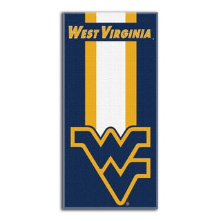 COL 720 West Virginia Zone Read Beach Towel