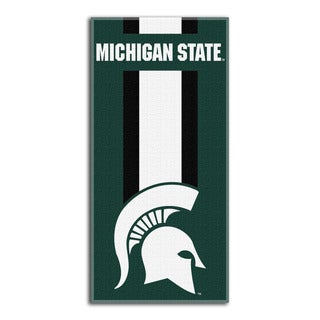 COL 720 Michigna State Zone Read Beach Towel