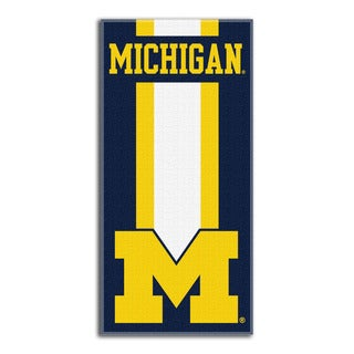 COL 720 Michigan Zone Read Beach Towel