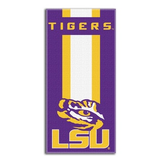 COL 720 LSU Zone Read Beach Towel