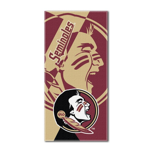 COL 622 Florida State Puzzle Beach Towel