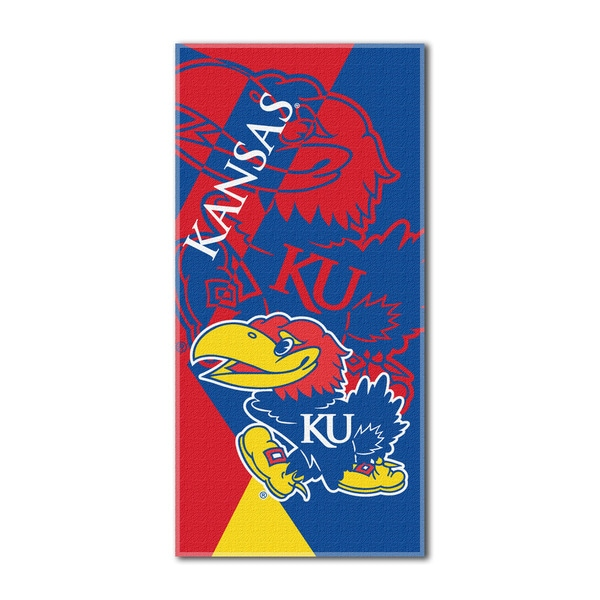 COL 622 Kansas Puzzle Beach Towel