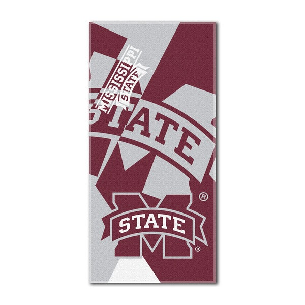 COL 622 Mississippi State Puzzle Beach Towel