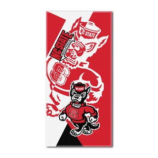 COL 622 NC State Puzzle Beach Towel