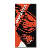 COL 622 Oregon State Puzzle Beach Towel