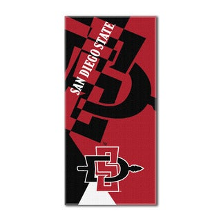 COL 622 San Diego State Puzzle Beach Towel