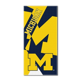 COL 722 Michigan Puzzle Beach Towel