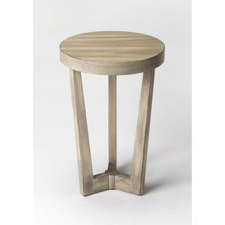 Butler Aphra Beige Driftwood Accent Table