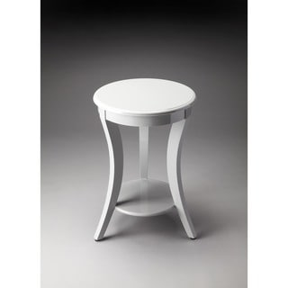 Handmade Butler Holden Contemporary Grey Finish Wood End Table (India)