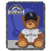 MLB 044 Rockies Field Bear Baby Throw