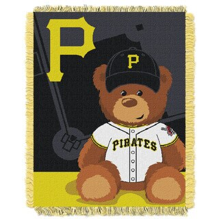 MLB 044 Pirates Field Bear Baby Throw