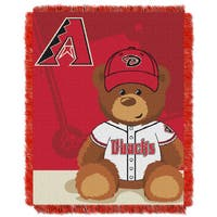 MLB 044 Diamondbacks Field Bear Baby Throw