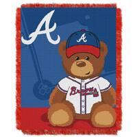 MLB 044 Braves Field Bear Baby Throw
