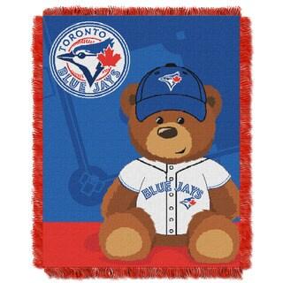 MLB 044 Blue Jays Field Bear Baby Throw