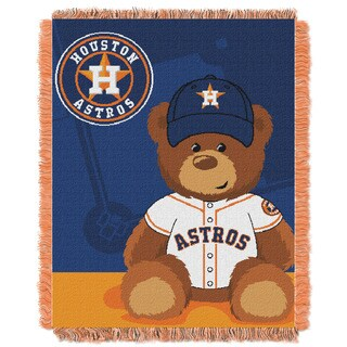 MLB 044 Astros Field Bear Baby Throw