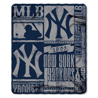 MLB 031 Yankees Strength Fleece Throw
