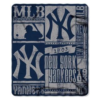 MLB 031 Yankees Strength Fleece Throw