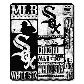 MLB 031 White Sox Strength Fleece Throw